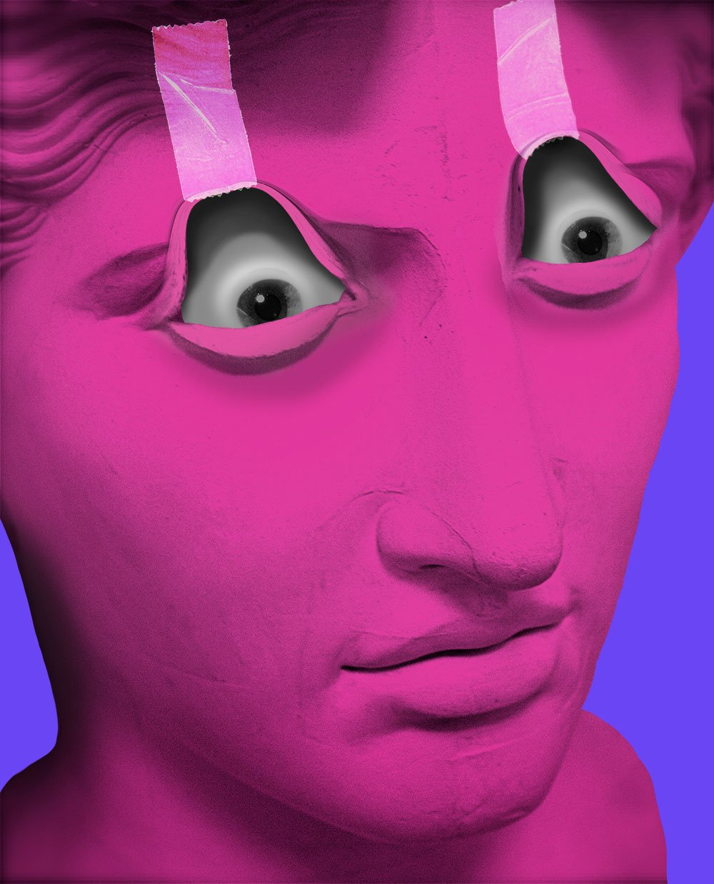 freddiemade, statue, digital art, visual art, contemporary art, scandale project,
