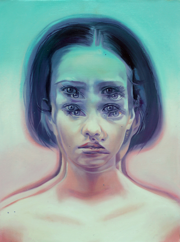 Alex Garant , artist, contemporary art, eyes, women, visual art, scandale project, scandaleproject,