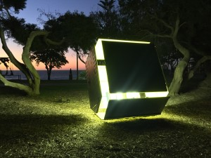 Nathaniel Rackowe, SCANDALE PROJECT, contemporary art, contemporary artist, light, shape, geometric, emerging, art installation, scandaleproject,